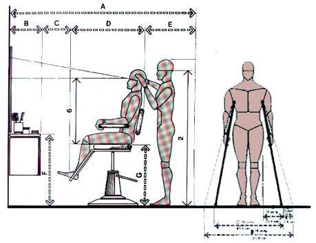Que hacemos proyectos escuela de peluquer a for Medidas antropometricas para discapacitados